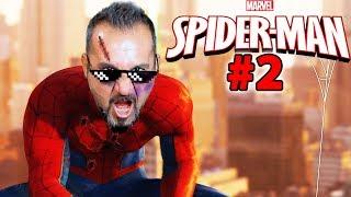 ÖRÜMCEK ADAM MASKESİNİ ÇIKARDI!-MC YARALI! | SPIDER-MAN #2