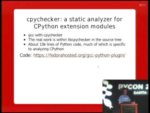 Image from Static analysis of Python extension modules using GCC