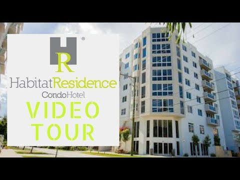Miami Florida Habitat Residence Condo Hotel & Room Video Tour Review