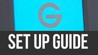 G-Technology ArmorATD How To Install / Set Up External Hard Drive on Mac | Manual | Setup Guide