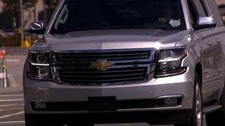 On the road: 2015 Chevy Suburban