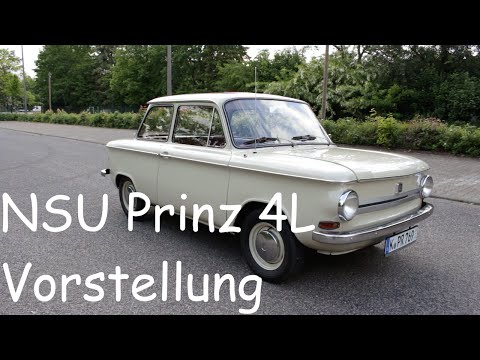 Vorstellung/Review | 1969 NSU Prinz 4L | Interieur/Exterieur