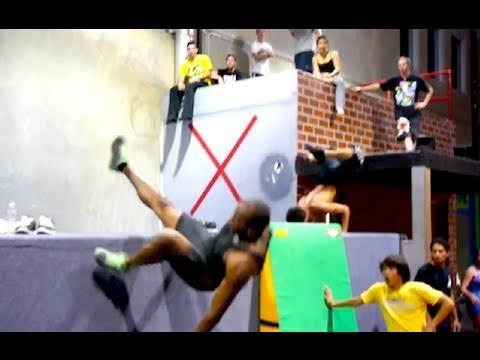 Learning Free Running – Ninja Warrior Training