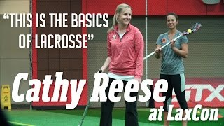 Cathy Reese at LaxCon: The Basics of Lacrosse