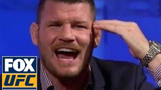 Michael Bisping responds to Luke Rockhold's recent callout | TUF TALK