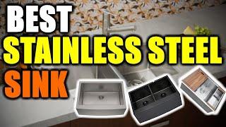 Best Stainless Steel Sink 2020 [RANKED] | Stainless Steel Sink Reviews