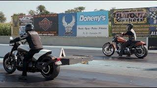 Drag Racing With Cowboy