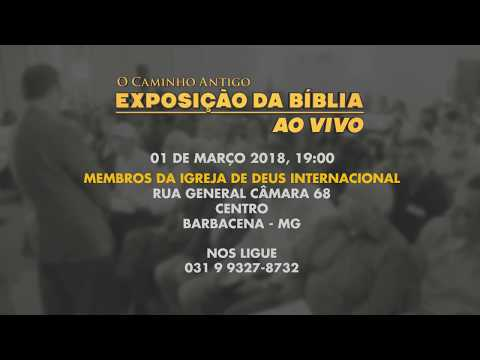 O Caminho Antigo - Exposição da Bíblia em Barbacena, MG