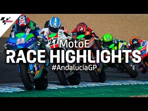 電動バイクレースの最高峰MotoE。2020年シーズンのレースから名シーンを集めた6分でわかるハイライト動画