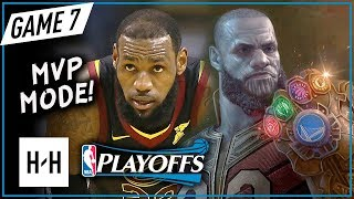 LeBron James CRAZY Full Game 7 Highlights vs Celtics 2018 Playoffs ECF - 35 Pts, 15 Reb, LeTHANOS