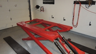 All You Need To Know If You're Buying A Scissor Lift For Your Garage