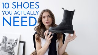 10 SHOES YOU NEED | what's actually worth buying