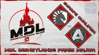Day 1 Team Liquid vs Alliance / OG vs The Final Tribe / MDL Disneyland® Paris Major / Dota 2 Live
