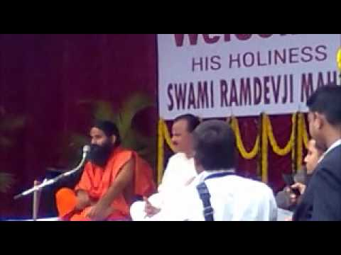 Swami RamdevJi Maharaj explaining the essence of Discipline and Decision Making for the youths of India in SIET(Synergy Institute Of Engineering & Technology), Dhenkanal, Orissa, India.