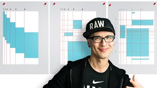 How To Draw And Use Fibonacci Grid In Your Design Layout