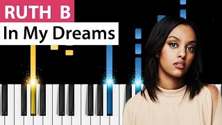Ruth B   In My Dreams   Piano Tutorial   How To Play In My Dreams On Piano