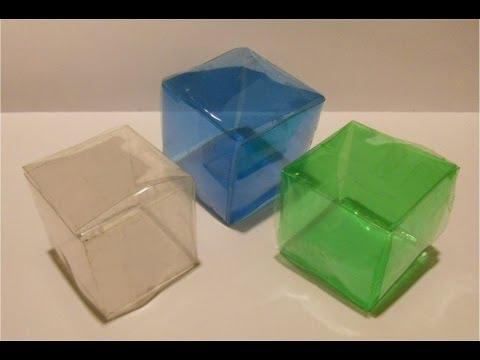 Reutilizando botellas plásticas - EL CUBO