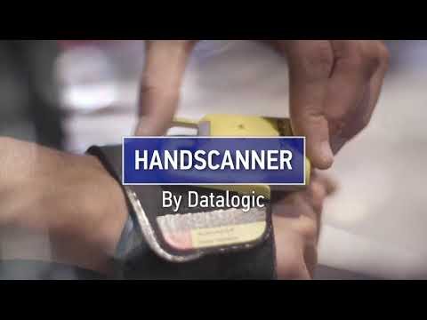 Datalogic HandScanner™ | Scan freely with the back of your hand (Applications)