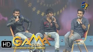 Jabardasth Team Funny Skit in ETV GAMA Music Awards 2015 -13th March 2016