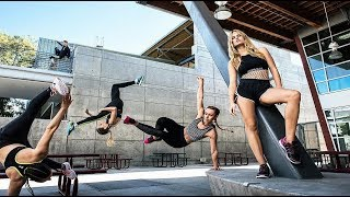 Extreme Parkour And Freerunning Girls - HIGH LEVEL
