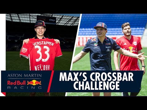 Image: WATCH: Max Verstappen takes on the crossbar challenge for Charity