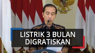 Kabar Baik Pemerintah Bebaskan Pembayaran Listrik Selama Tiga Bulan, Jokowi: Mulai Bulan April