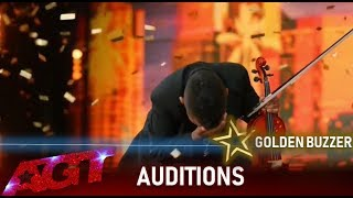 11 Year Old Cancer Survivor Violinist Earns Simon's Golden Buzzer!🌟| America's Got Talent 2019