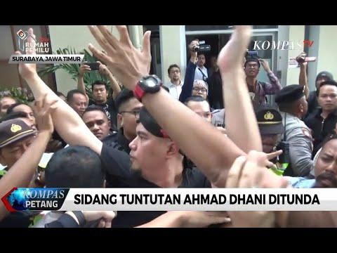 Sidang Tuntutan Ahmad Dhani di PN Surabaya Berujung Ricuh