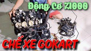Động Cơ Z1000 1043cc Chuẩn Bị Chế Xe GoKart KST