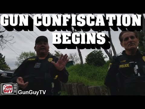 Cal DOJ Storm-troopers Confiscate Guns from Law Abiding Citizen