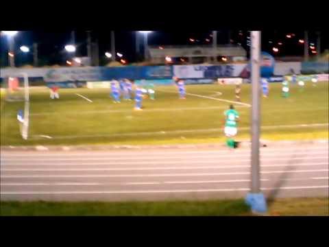 """""""SOMOS LA REGIÓN ARTILLERIA VERDE SUR 01/12/2014-"""" Barra: Artillería Verde Sur • Club: Deportes Quindío"""