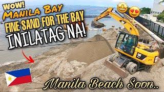 WOW! Manila Bay PINONG BUHANGIN Kumpirmado! MANILA BEACH Soon | Manila Bay Latest Update Aug 7, 2020