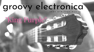 Grooving Electronica Backing Track for Guitar in F# Minor (F#m)