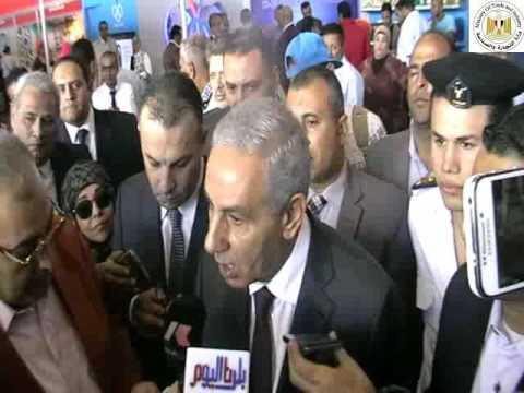 """الوزير/ طارق قابيل يفتتح معرض """"الشعب يأمر """" بمشاركة 105 شركة مصرية"""