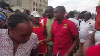 ODM angered by video in which people in Jubilee T-shirts were distributing maize flour (unga)
