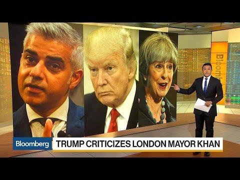 Trump Criticizes London Mayor Khan