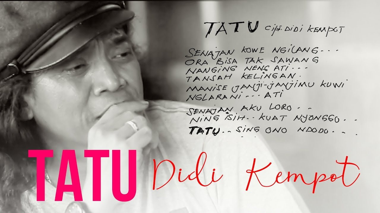 Lirik Dan Chord Kunci Gitar Lagu Tatu Didi Kempot Opo Aku Salah