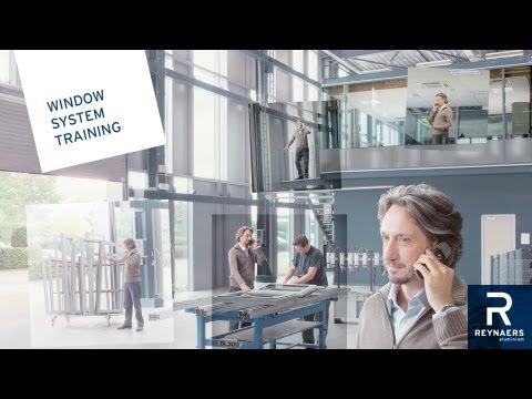 Reynaers Aluminium - Training window - YouTube