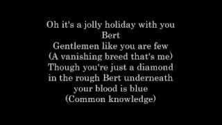 Jolly Holiday Lyrics