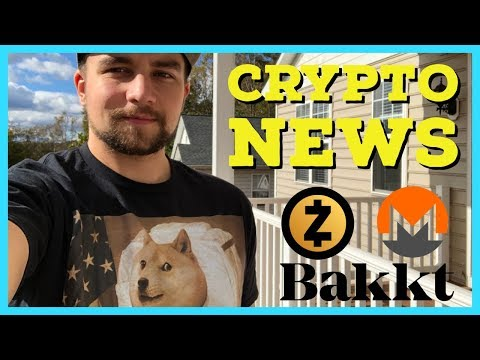 Zcash New Mining Algo 2019 | Monero Bulletproofs Reduce Fees | BAKKT Early Approval? | Vechain