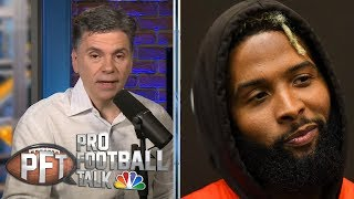 PFT Overtime: Odell Beckham Jr. felt 'disrespected' by Giants trade   Pro Football Talk   NBC Sports