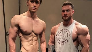 Training & Shooting w/ Classic Physique Competitor Chris Bumstead