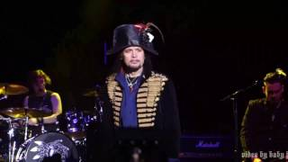 Adam Ant-FEED ME TO THE LIONS[Adam & The Ants]-Fillmore-San Francisco-2.7.17-Kings Of The Wild Front