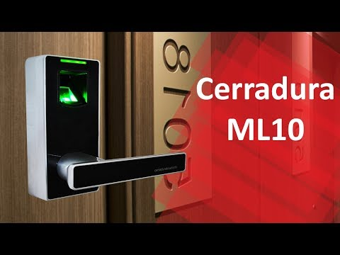 Control de acceso Cerradura de Huella Digital ML10 ZKTeco