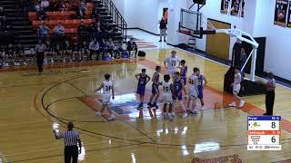 February 15, 2019 Tahlequah Tiger basketball vs. Pryor.