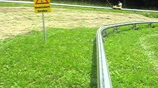 preview picture of video 'Sommerrodelbahn Wien ( Vienna ) Hohe Wandwiese System Brandauer'
