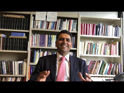 العرب اليوم - عمرو رياض أزهري في جامعة لوفان البلجيكية