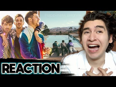 Jonas Brothers - Happiness Begins [Album REACTION] ☀️