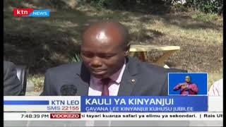 Gavana Lee Kinyanjui awahimiza viongozi wa Jubilee kusitisha malumbano kuhusu siasa za 2022