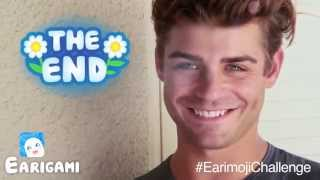 Garrett Clayton Accepts The #EarimojiChallenge